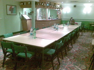 Bar prepared for a Conference